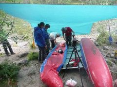 Отчет о пеше-водном походе 3 к.с., республика Бурятия