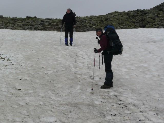 Снежник на перевале Лимбеко