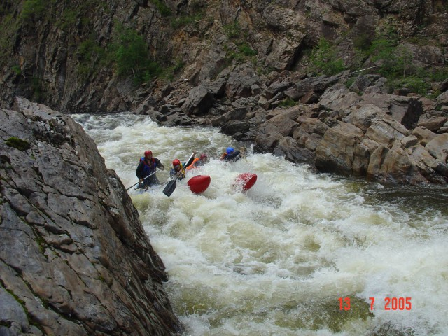 ОТЧЕТ о водном туристическом путешествии четвертой категории сложности  в районе хр. Хамар-Дабан (Забайкалье) р. Хангарул - р. Зун-Мурин