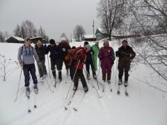 Отчет о лыжном походе 1 к.с. по Макарьевскому району