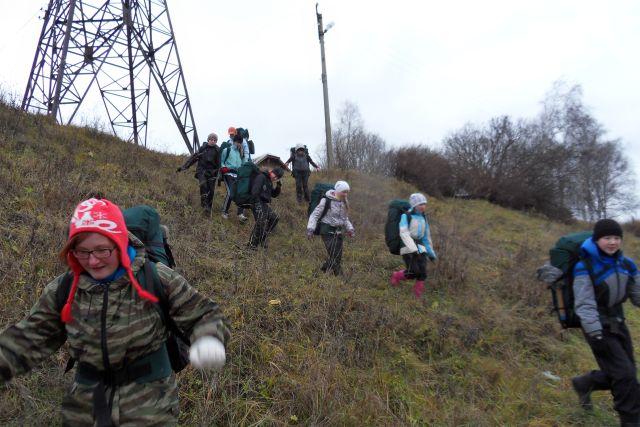 Отчет о пешеходном походе 1 к.с. по Буйскому району, Костромская область