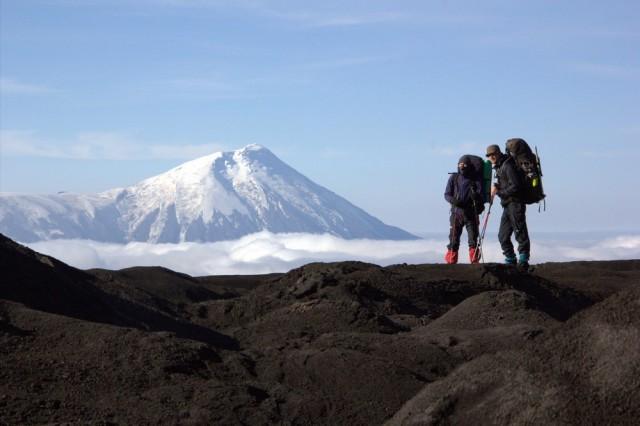 вид с плато Малая Антарктида