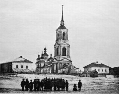 Такой была Варваринская церковь в начале 20 в.