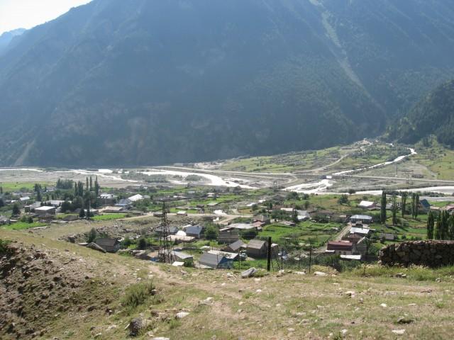 Отчет о горном походе 1 к.с., в районе Центр. Кавказа