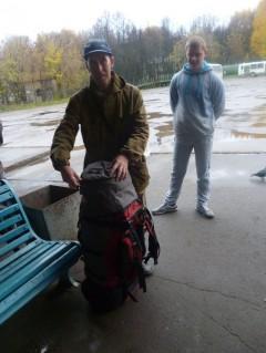 Сбор рюкзаков