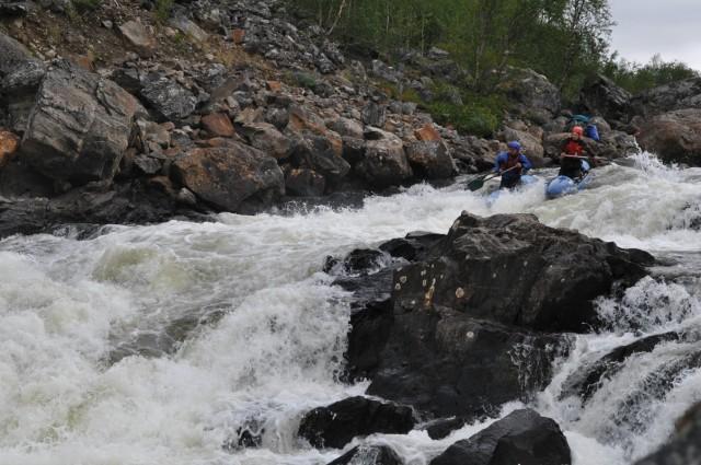 Отчет о водном походе, по Мурманской области, р. Западная Лица - р. Титовка