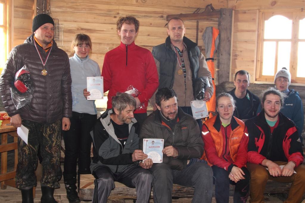 Итоговый протокол открытых областных соревнований по лыжному ориентированию. (Контрольное время 24 часа)