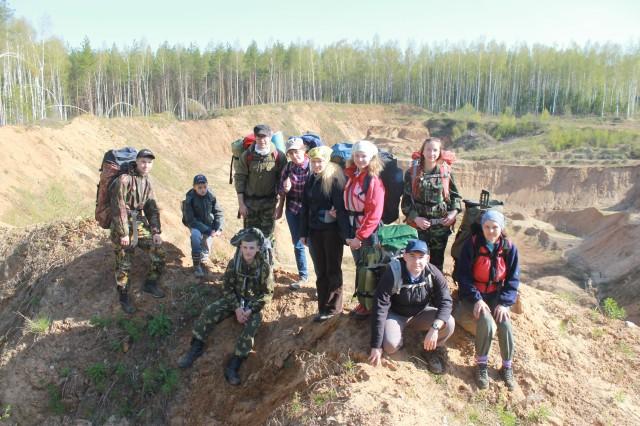 Отчет о походе выходного дня 10-11 мая 2015 года по Костромскому району