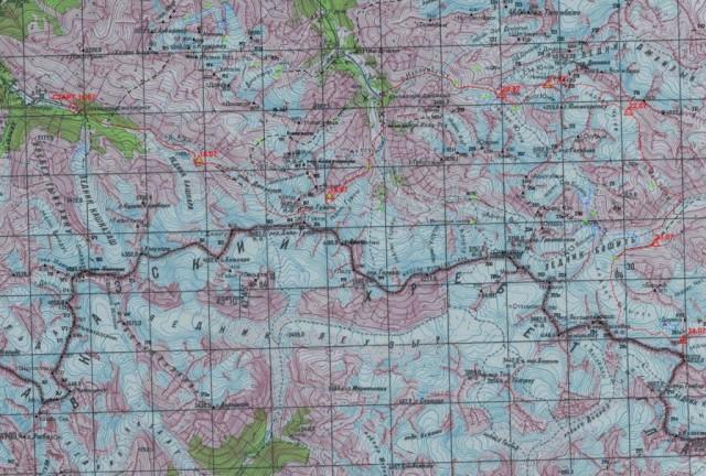 Отчет о горном походе 5 категории сложности проведенном в районе Центрального Кавказа с 18.07.2015г. по 08.08.2015г.