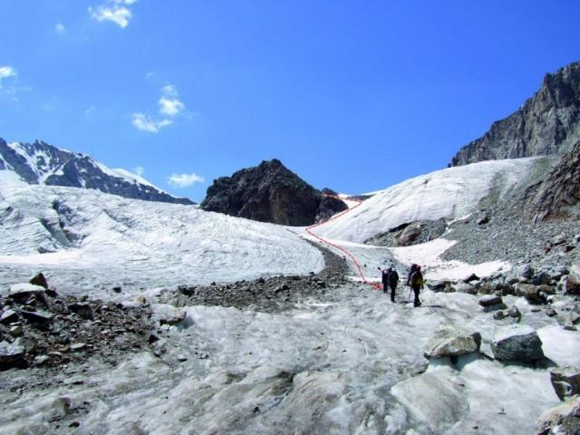 Фото 58 Спуск с лед. Юж. Чат