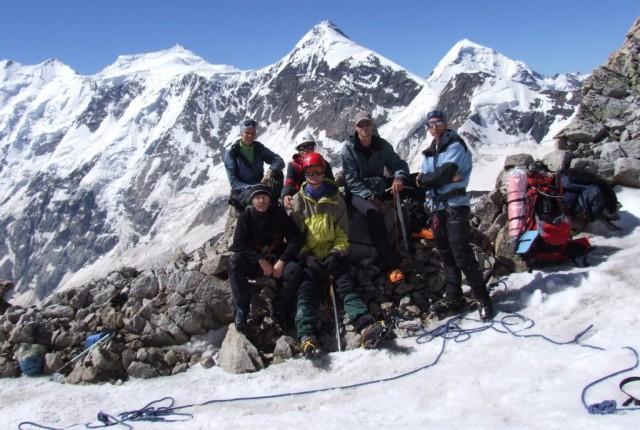 Фото 88 группа на перевале Ортокара Вост.