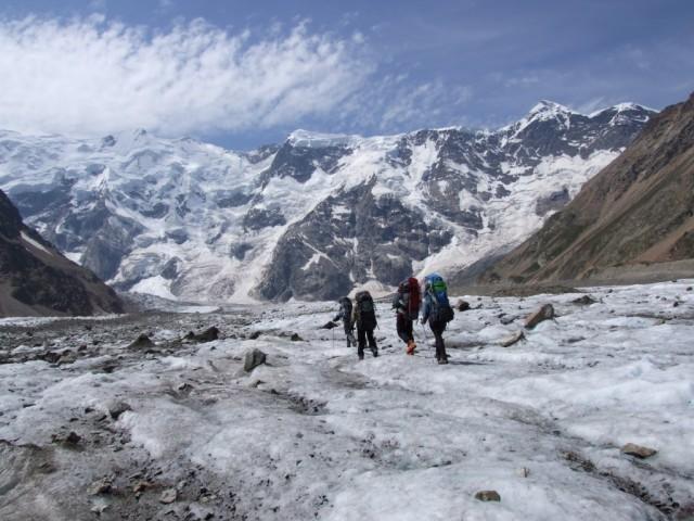 Фото 95 на Безенгийском леднике