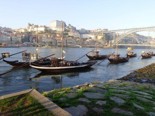 Порто. Река Дуро, она же Дуэро. / Porto. River Duro.