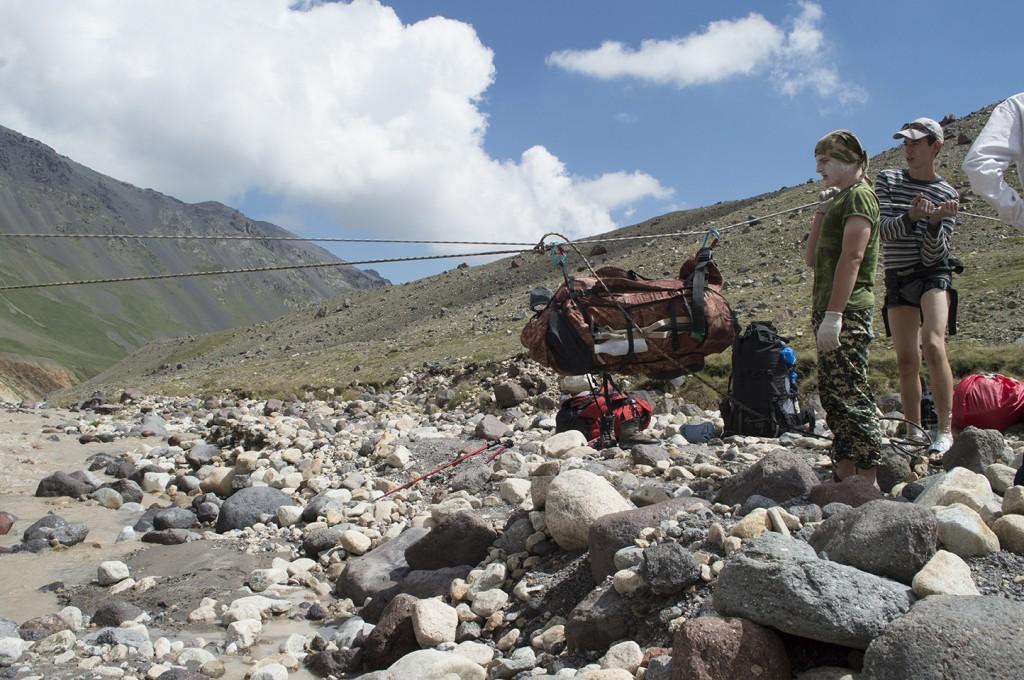 Отчет о туристском походе по Центральному Кавказу