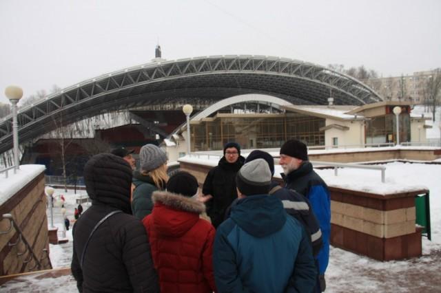 Концертная площадка, на которой проходит международный фестиваль «Славянский базар»