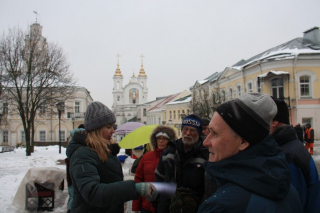Экскурсия по центру Витебска