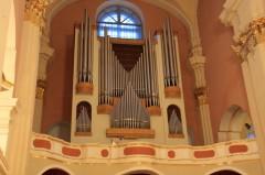 Орган в Софийском соборе, г. Полоцк
