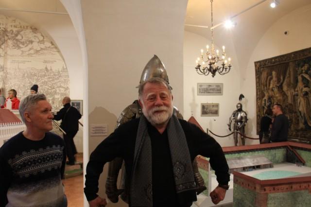 Михаил Юрьевич в Мирском замке