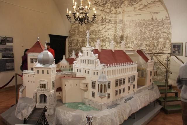 Модель Старого Гродненского замка