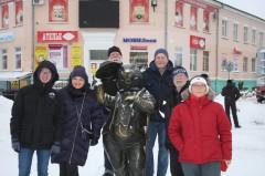 Памятник бобру, г. Бобруйск