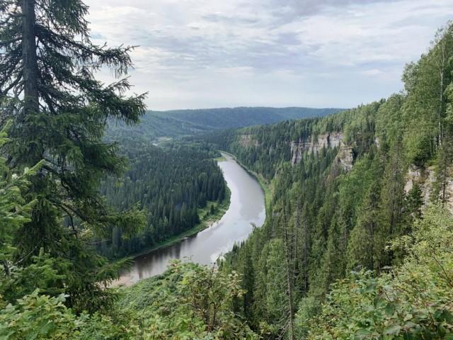 Водный поход 1 КС река Усьва, Пермский край